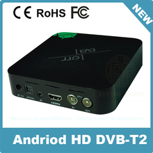 android hybrid wifi manufacturer with amlogic stable dvb-t2 solution