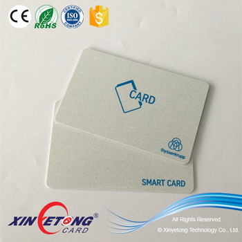 13.56MHZ MF Classic 4K Chip RFID Card Printable