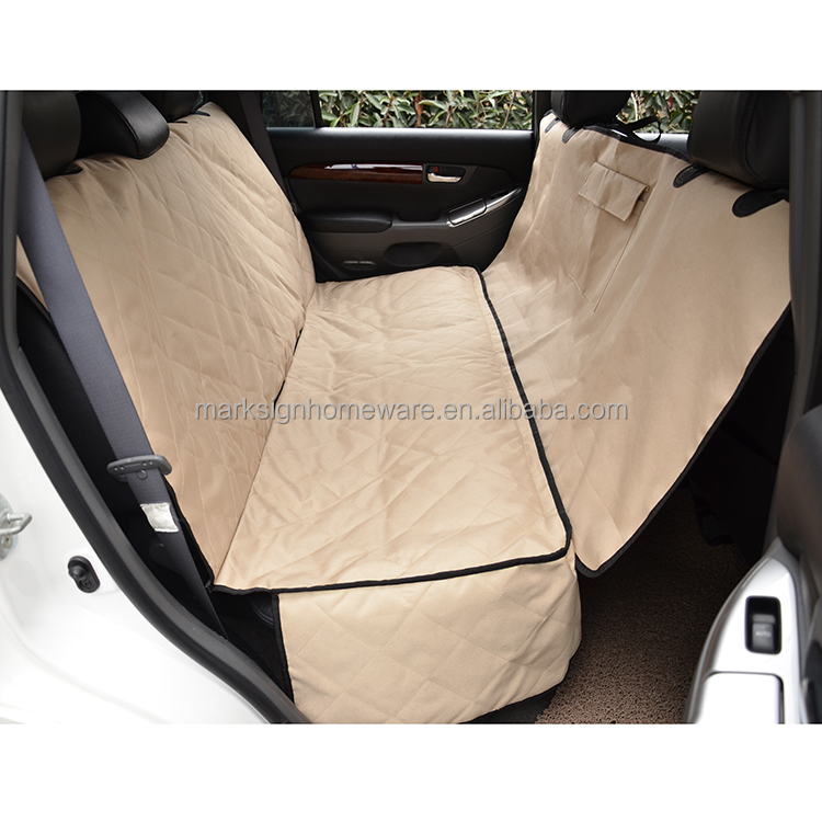 Quilted Nylon Dog Car Seat Cover