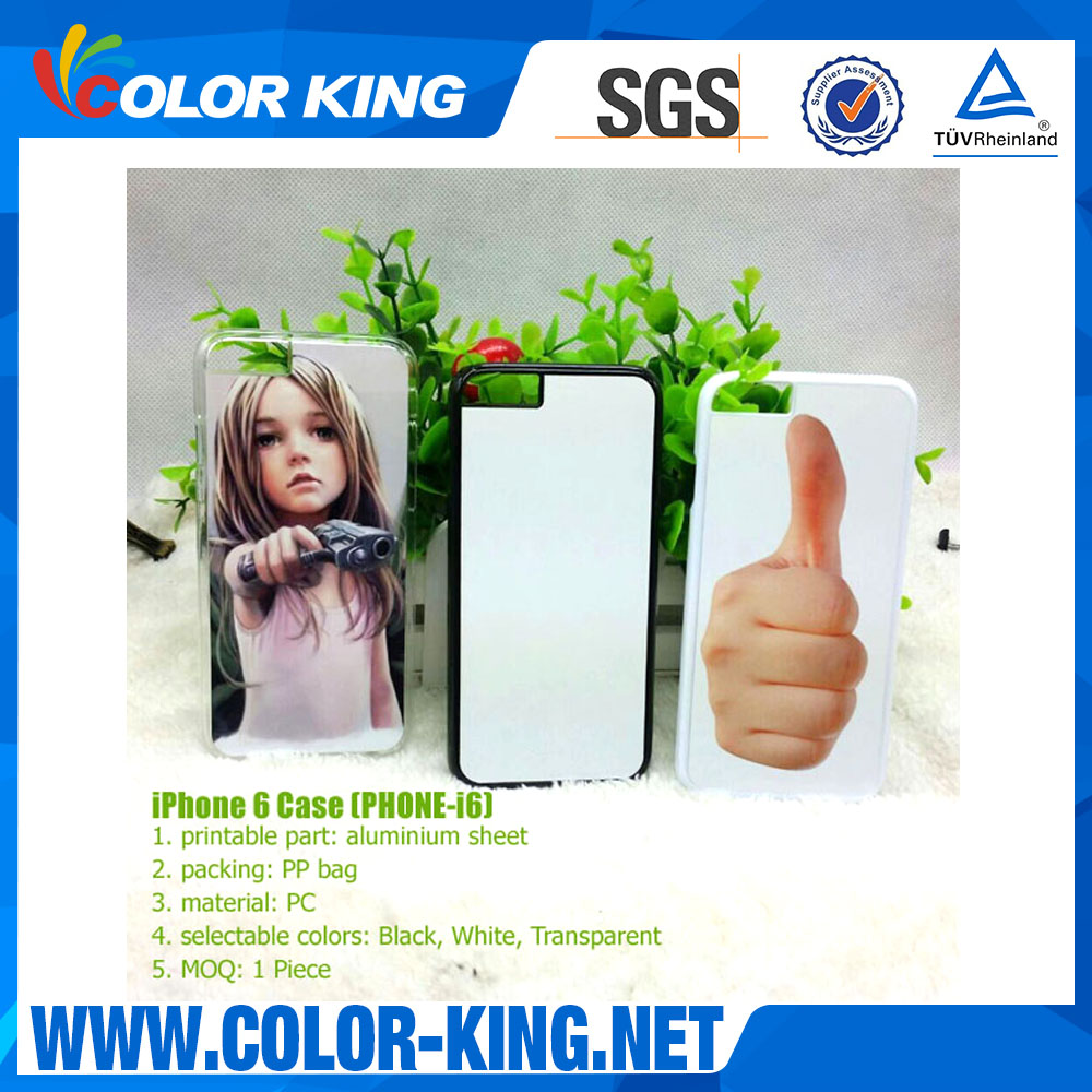 Sublimation Blank Printable Cell Cover Mobile Phone Case (PHONE-i6)