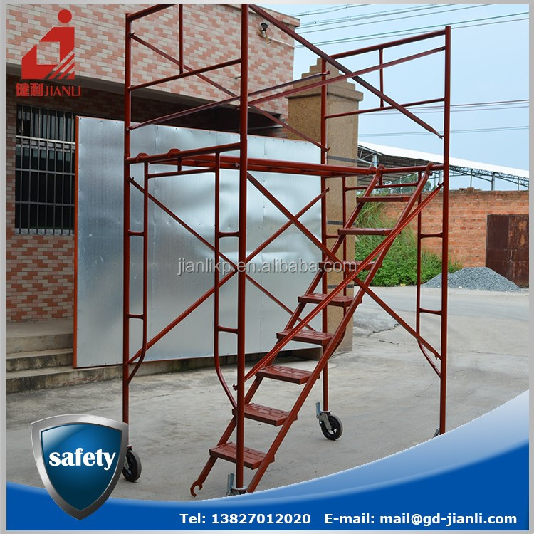 Factory Supplying Construction Mobile Frame Scaffolding System Part