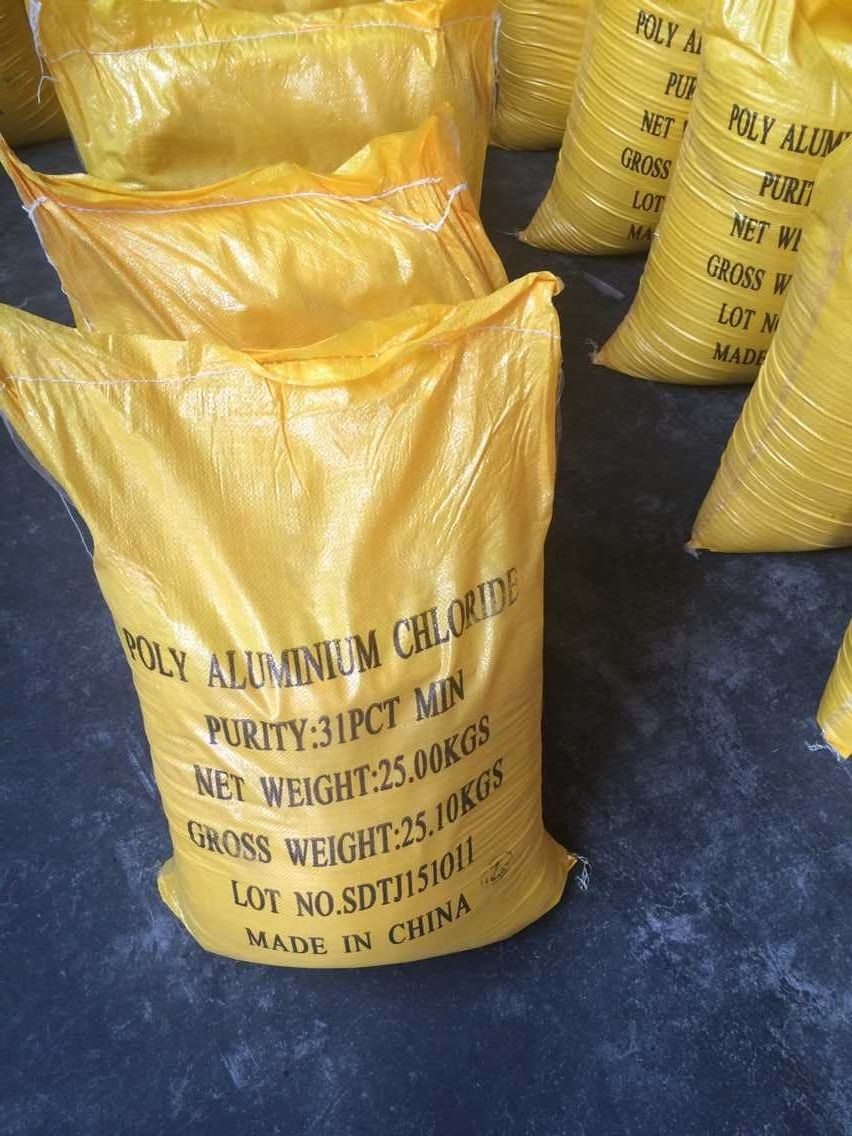 light yellow high efficiency Polyaluminium Chloride MANUFACTURER pac drinking water treatment chemical agent