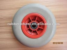 Non-pattern 9 inch pu foam wheel solid tyre