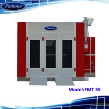 FMT35 Famous CE approved spray booth open face/used paint booth/spray booth for car