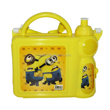 New Water Bottle and Lunch Box set for kids with straps