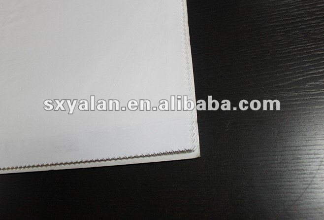 hotel Egytian cotton or polycotton white bed linen sheeting material or cotton percale fabric