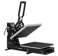 Mecolour good quality manual auto open heat press machine of 40*60cm table size for t-shirts printing