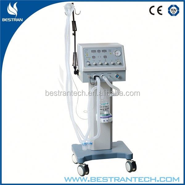 BT-S500 electrically controlled pneumatic integrated China medical ventilators brand suppliers