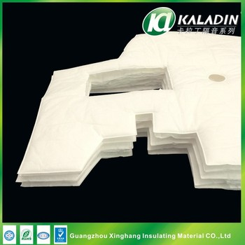 Soundproofing Insulation White Cotton Panels for car Interior