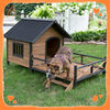 Assurance quality custom cheap wooden dog kennel factory price