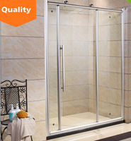 Safe Aluminum 2015 new design steam shower room with sauna made in China