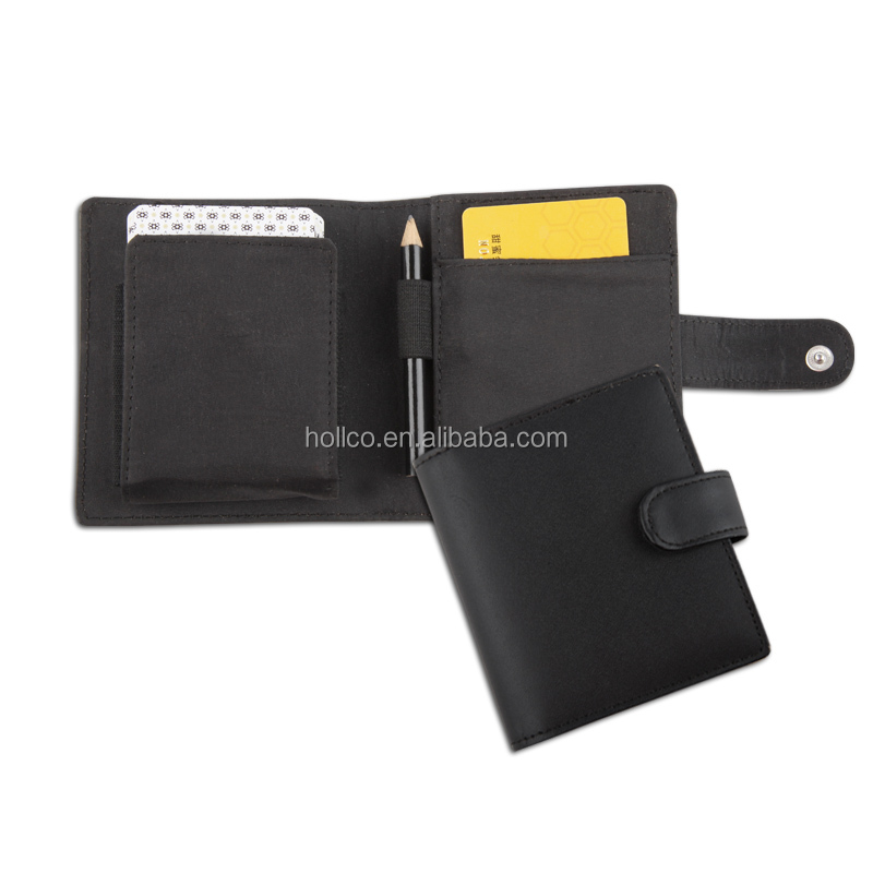 High-end Bonded leather Poker Card holder