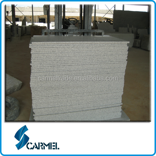 G655 white polished granite for granite buyers in china