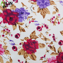 High quality 100% polyester woven wool peach/wool chiffon disperse print fabric