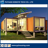 2016 China Hot Selling Home Designs Container Homes Mobile Luxury Prefab Container Houses