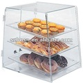 Acrylic Cake Display Stand, Plexiglass Bread Holder, Lucite Bread Display