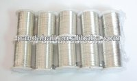 0.3mm Silver Color Jewelry Copper Wire(CWMC-S)