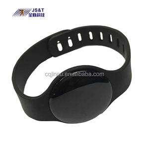 Bluetooth 4.0 BLE iBeacon Waterproof Fashion Bracelet/Wristband OEM/ODM UUID Programmable