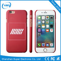 China Supplier DIY Sublimation Hard PC Mobile Cover Unique Custom Phone Cases for iPhone 6 6s 6 plus