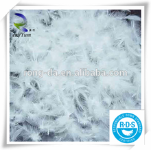 New style down and feather hot sale 4-6CM washed white goose feather
