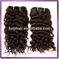 Machine made double weft 5a top quality 100% virgin italian curl hair extension