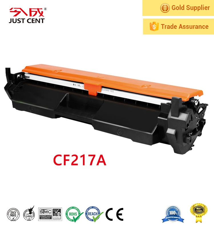 China premium laser toner cartridge cf217a