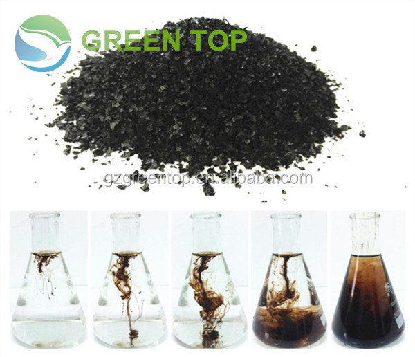 Organic Fertilizer of Acid Humic as Foliar Fertilizer