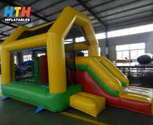 China factory wholesalers cheap mini pvc bouncy air inflatable bouncer house air jumping castle