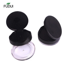 Wholesale Accept OEM Cosmetic Makeup Container High Quanlity Empty Double-deck Compact Powder Case