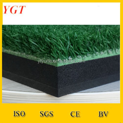 2mm hard rubber golf hitting mats (YGT-155B)