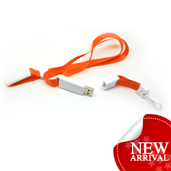 popular 16GB turntable oem lanyard badge usb