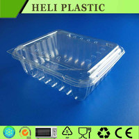 Disposable Plastic Clamshell vegetable and fruit containers HL-1615