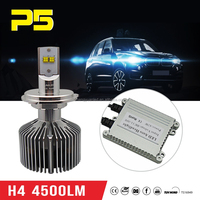 Top quality LED Headlight H4 9003 160W 9000LM Kit 6000K Bulb replace HID Lamp