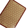 New Arrival Anti-slip Silicone Coated Macaron Baking Mat