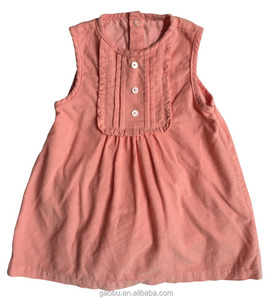 Wholesale Baby Dress 100% Cotton Newborn Baby Girl Clothes