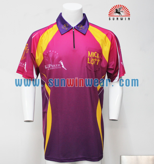 Dye Sublimation Polyester Polo Shirts