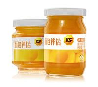 Good taste yellow peach jam