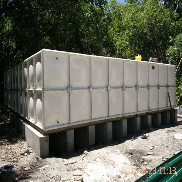 2016 GPR fiberglass sectional tanks SMC/FRP sectional water storage tanks