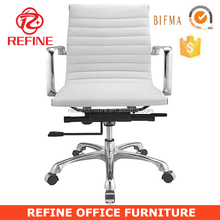 modern design luxury white executive office chairs in white leather RF-S076B