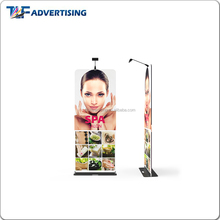 EZ tube banner stand pop up display with Led light