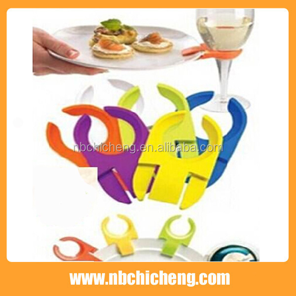Plastic Cup Clip, Colorful Cup Holder