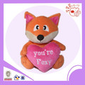valentine fox type plush toy