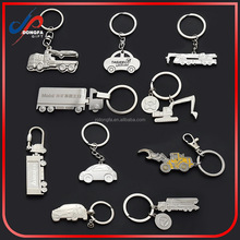 direct factory cheap metal car/truck shaped keychain wholesale