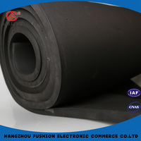 Protective thin heat insulation material
