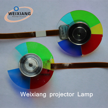 Projector Replacement Color Wheel for Optoma DT344 Projector Color Wheel,6 segments 40mm