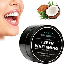 Anti bad teeth coconut oil charcoal teeth whitening powder