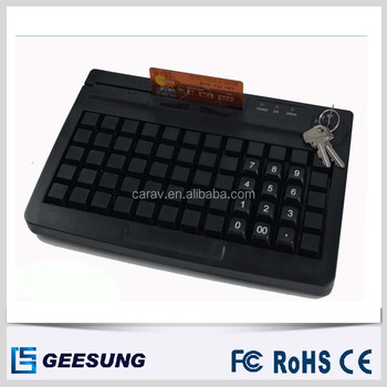 Russian 60 Keys Programmable Keyboard/ Pos Keyboard Ps/2 & USB