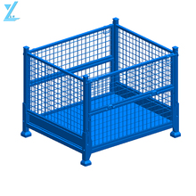 Heavy Duty Metal Storage Cages For Warehouse Use
