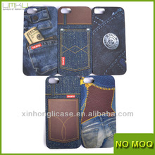 Jeans Style Hot selling case for apple Iphone 5G