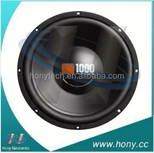 CS1204 300mm/2inch coil 250W 12 inch car speaker woofer for sub box and bass tube